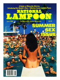 National Lampoon  June 1989 - Summer Sex Issue