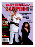 National Lampoon  July and August 1994 - Buy This Magazine Or I Will … Oh  Never Mind