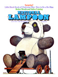 National Lampoon  July 1972 - Little Black Book of Chairman Mao  the Trojan Panda