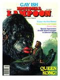 National Lampoon  May 1977 - Gay Ish  Queen Kong