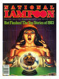 National Lampoon  January 1983 - Hot Flashes  The Psychic Fortune Teller with the Top Stories