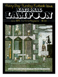 National Lampoon  June 1975 - The Rainy Day Sunday Funbook Issue