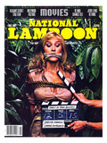 National Lampoon  October 1981 - Movies  Damsel in Distress Tied and Caught-Up in the Take 5