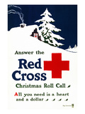 Red Cross Poster  C1915