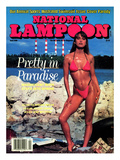 National Lampoon  April 1990 - Pretty in Paradise