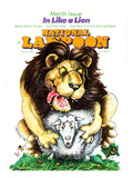 National Lampoon  March 1976 - In Like a Lion  on the Lamb