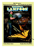 National Lampoon  October 1975 - Collector's Issue  Butterflies in Trash