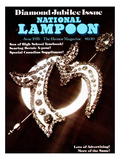 National Lampoon  June 1976 - Diamond Jubilee Issue
