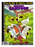 National Lampoon  October 1987 - Back to School Issue  Frogs Dissect Student