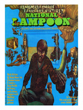 National Lampoon  October 1972 - The Fabulous Sixties and the Psychedelic Banana