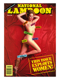 National Lampoon  March 1986 - This Issue Exploits Women!