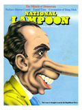 National Lampoon  August 1972 - The Miracle of Democracy