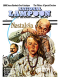 National Lampoon  November 1970 - Nostalgia  a Hippie Haircut