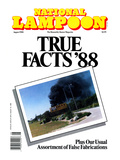 National Lampoon  August 1988 - True Facts '88