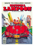 National Lampoon  October 1989 - Back to College Issue