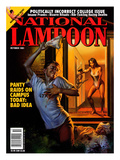 National Lampoon  October 1991 - Panty Raids on Campus Today: Bad Idea