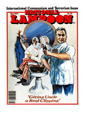 "National Lampoon  May 1979 - International Communism and Terrorism Issue  ""Giving Uncle a Real Clip"
