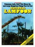 National Lampoon  March 1977 - Rollercoaster: Large Dangerous Things That Go Fast