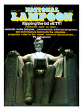 National Lampoon  April 1977 - Lincoln Statue  Ripping theLid off TV