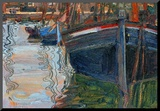 Boats Mirrored in the Water  1908