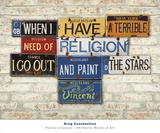 Vincent, Religion Reproduction d'art par Greg Constantine