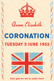 Coronation Day, 1953 Reproduction d'art par The Vintage Collection