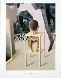 Le Mariage du Minuit Reproduction d'art par Rene Magritte