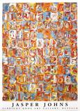 Numbers in Color Reproduction d'art par Jasper Johns