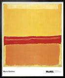 Numéro 5 Reproduction encadrée par Mark Rothko