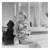 Vogue - March 1951 - CZ Guest at the Villa Artemis