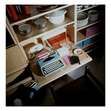 House & Garden - October 1968 - Typewriter on Compact Desk