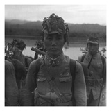Vogue - July 1945 - Chinese Soldier in Camouflage