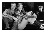 Glamour - January 1973 - Jack Nicholson and Fashion Model