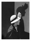 Vogue - December 1934 - Model in a Hat by J Suzanne Talbot