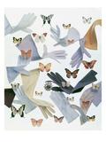Vogue - April 1959 - Gloves and Butterflies