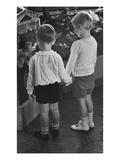 Vogue - November 1934 - Little Boys Holding Hands