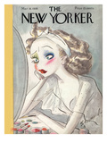 The New Yorker Cover - March 18, 1939 Giclée premium par Barbara Shermund
