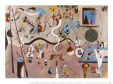 Carnival of Harlequin Reproduction d'art par Joan Miró