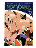 The New Yorker Cover - November 10, 1928 Giclée premium par Theodore G. Haupt