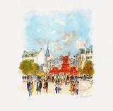 Paris  Le MouIIn Rouge Iv