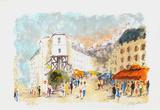 Paris  Montmartre La Rue Lepic