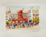 Paris  Le MouIIn Rouge III