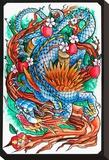 Dragon II Tableau sur toile par Joe Kowalski