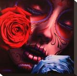 Amor Eterno Tableau sur toile par Daniel Esparza