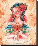 Amour vrai Tableau sur toile par Christina Ramos