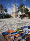 Medina Market by the Great Mosque  Sousse  Tunisia