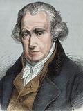 James Watt (Greenok 1736-Heathfield  1819) Scottish Inventor and Mechanical Engineer