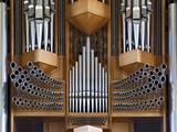 Pipe Organ  Hallgrimskirkja  Main Lutheran Church  Reykjavik  Iceland