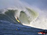 Mavericks Surf Competition 2010  Half Moon Bay  California  Usa