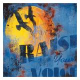 Trouve ta voix|Raise Your Voice Giclée par Rodney White